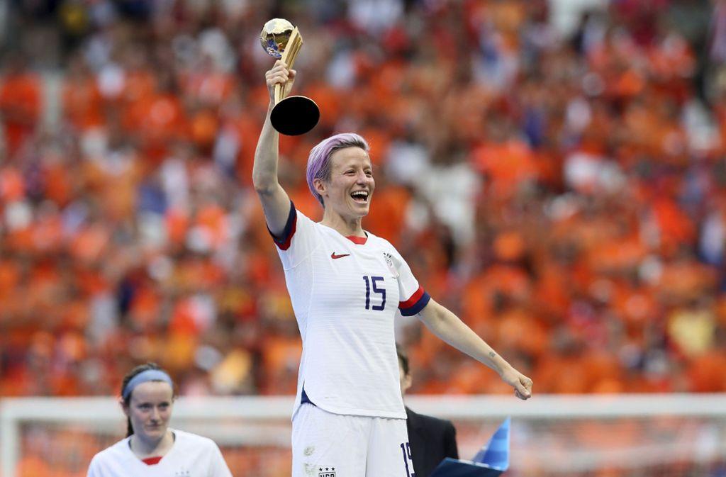 Frauen Nationalmannschaft Us Fussballerinnen Bekommen Vom