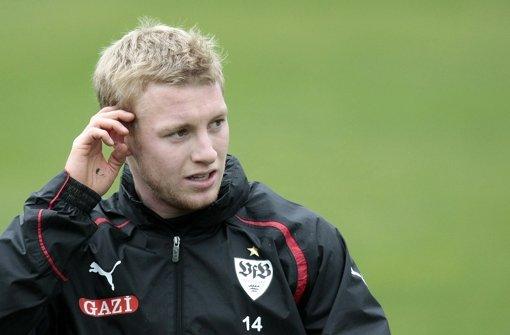"""Patrick Funk will gegen den VfB """"alles in die Waagschale werfen"""". Foto: Baumann"""