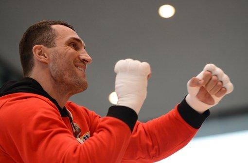 Waldimir Klitschko hat keine Lust, gegen Gerüchte anzukämpfen. Foto: dpa