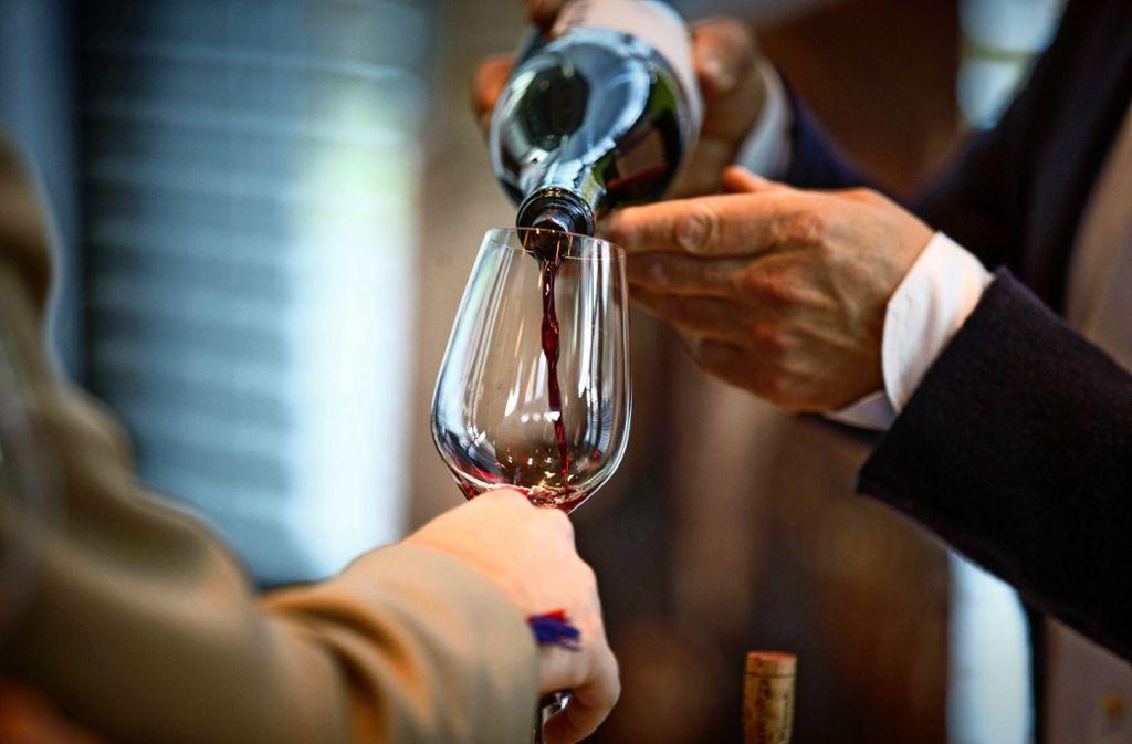 Verkostung und Gala in Fellbach - Die Elite der deutschen Weinwelt - Stuttgarter Zeitung