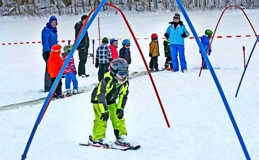 Skikurse auf der Alb