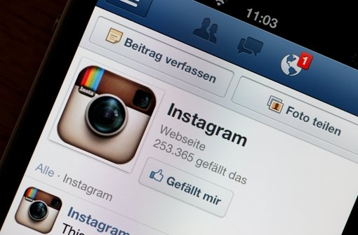 Instagram Foto: dpa