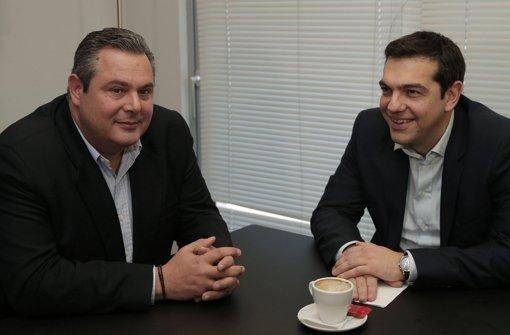 Syriza will mit Rechtspopulisten koalieren