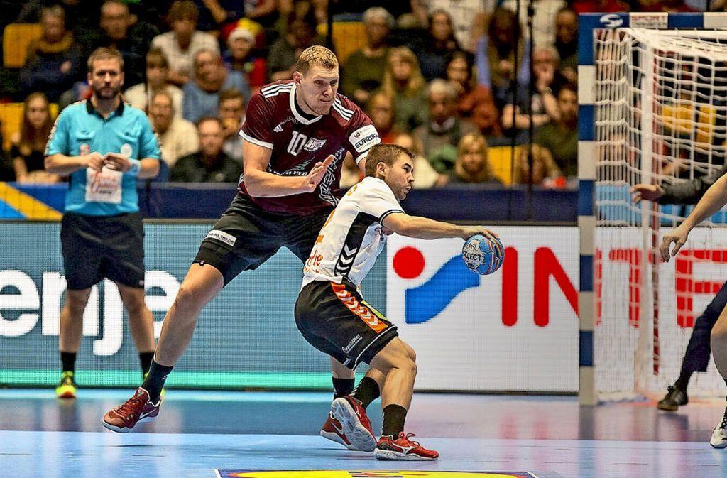 Handball Em Dainis Kristopans Der Handball Koloss Aus