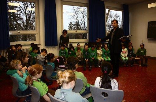 Armin Pongs will Kinder mit seinen Foto: Annina Baur