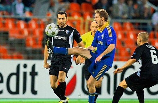 Ballzauber: Alexander Hleb hat das Fußballspielen nicht verlernt. Foto: dpa