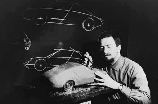 Mit Hilfe eines schlichten Modells entwarf Porsche damals das 911-Modell. Foto: Porsche