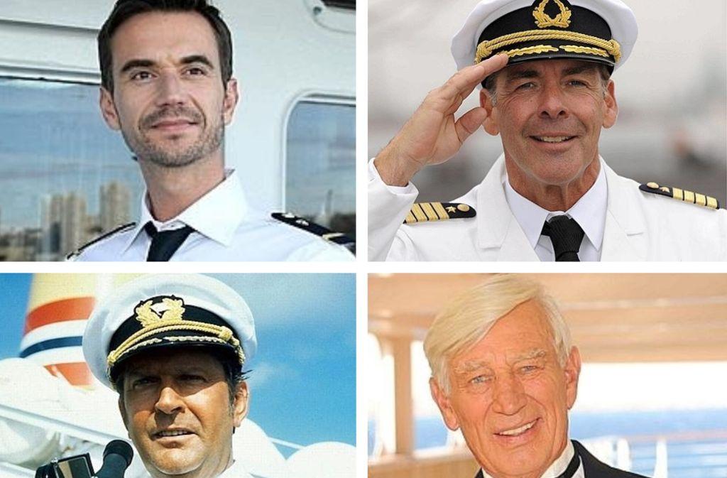 Florian Silbereisen Und Das Traumschiff Berühmte Film Kapitäne