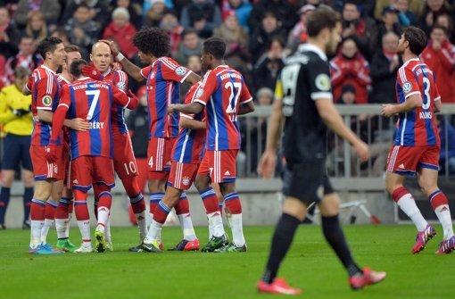 Bayern im Viertelfinale – Bremen raus