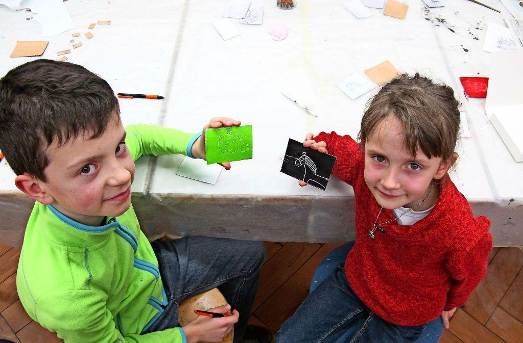 Kunstschule In Filderstadt Plattenhardt Neues Ausprobieren Und Von