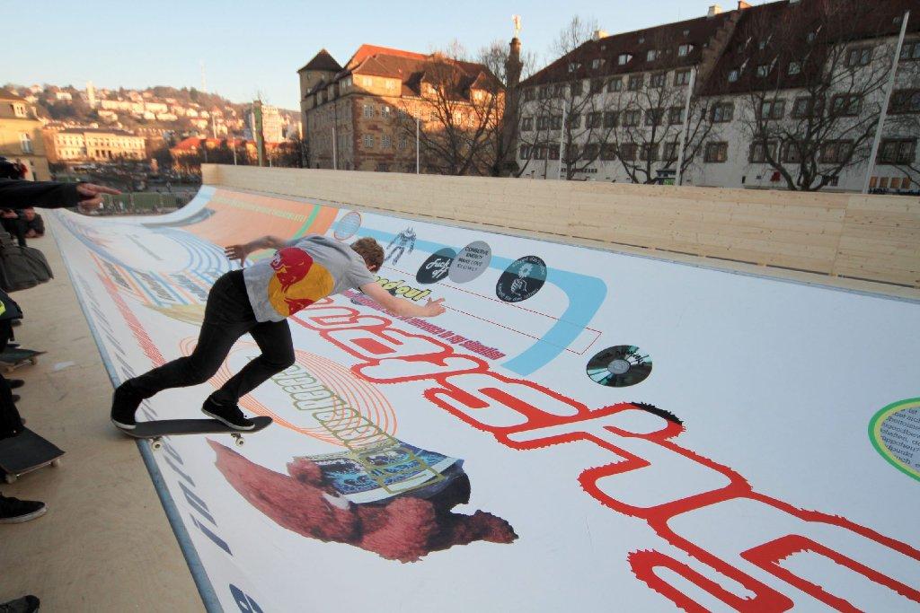 Skaterrampe Auf Dem Schlossplatz Die Rampe Steht Uns Gut Leben