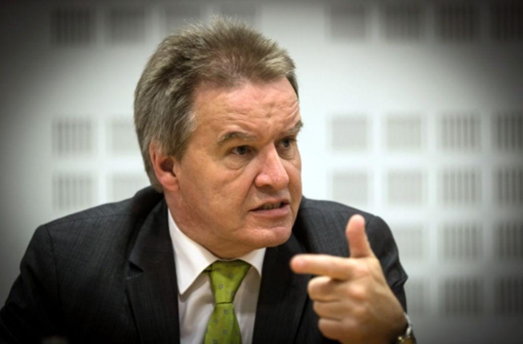 Umweltminister Bw