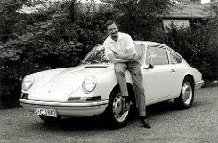 Ferdinand Alexander Porsche entwarf den legendären Porsche 911. Foto: Porsche AG