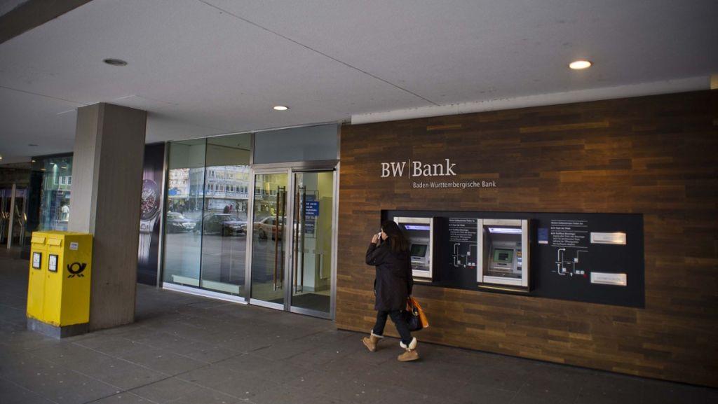 Bw Bank Kräftige Gebührenerhöhung Beim Girokonto Wirtschaft