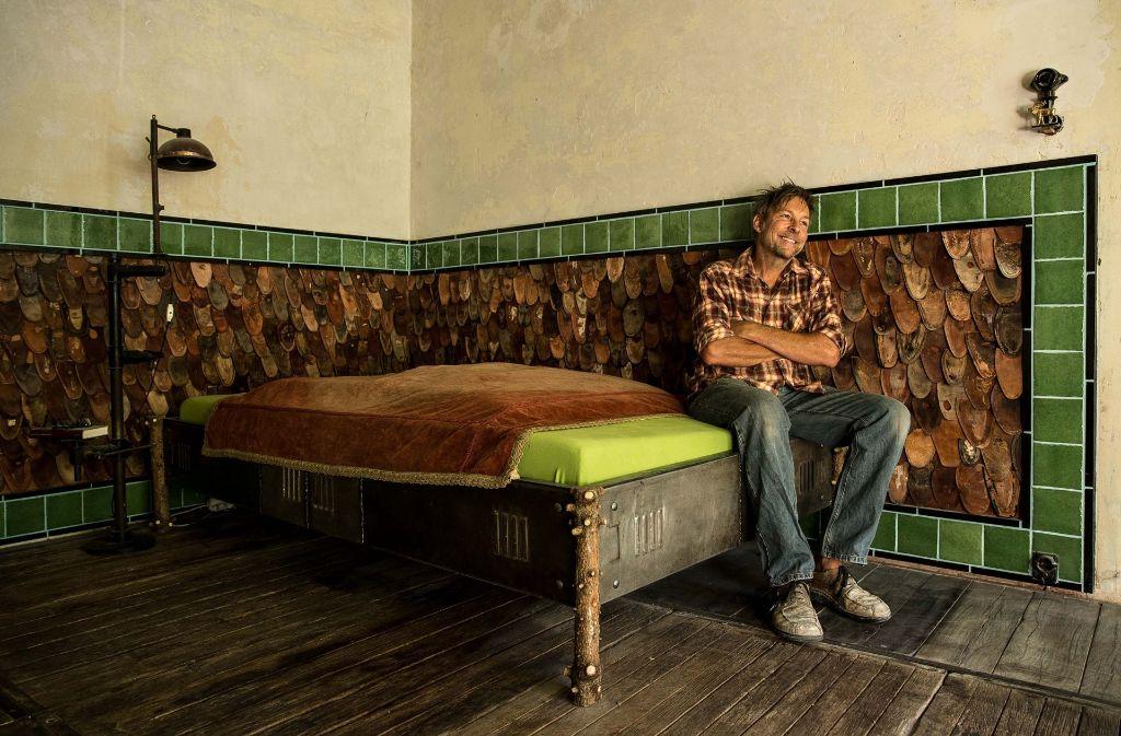 Möbeldesignern In Stuttgart Ungehobeltes Bringt Kontraste Ins Heim