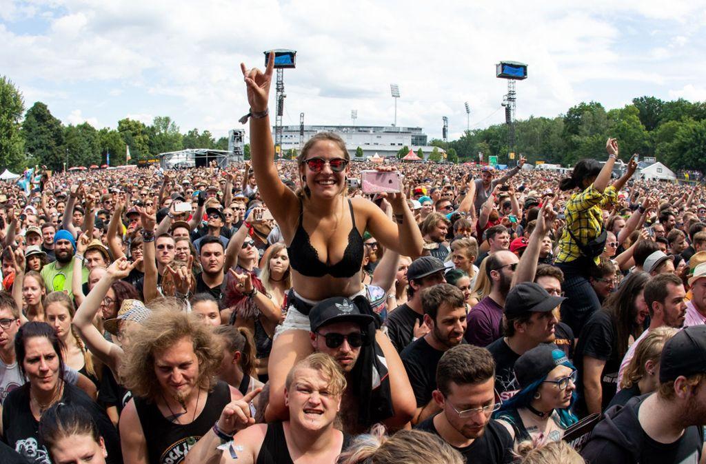 """Festivals: Fans feiern bei """"Rock am Ring"""" und """"Rock im ..."""