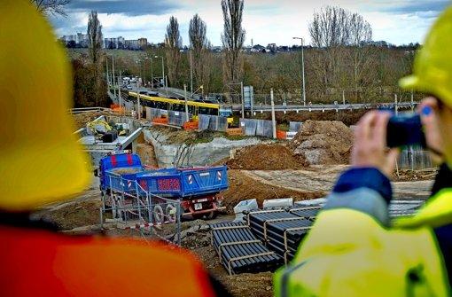 Neue Röhre für die U12 ins Neckartal