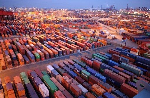 Die Exporte brechen ein