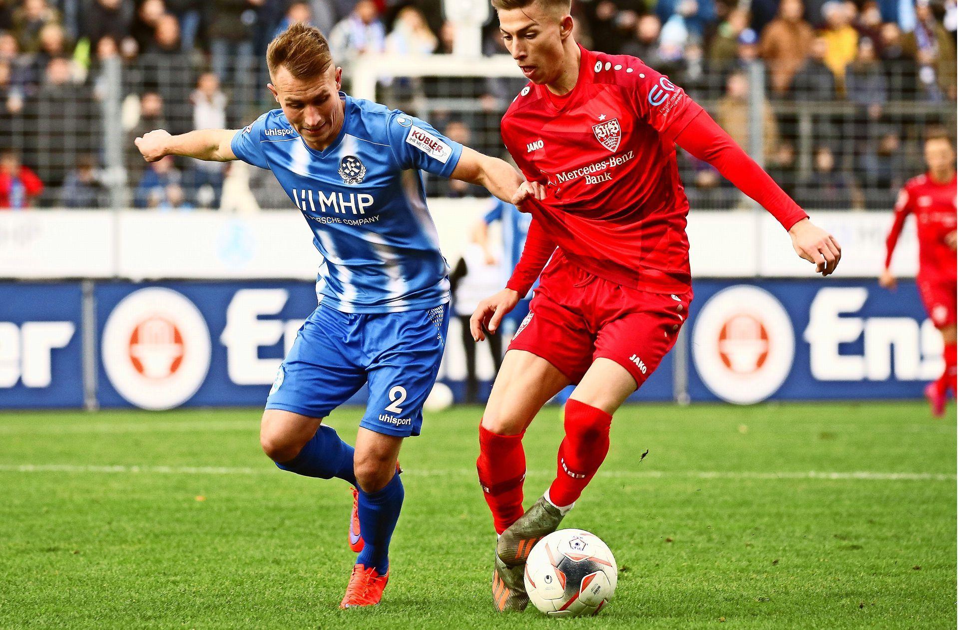 Letzter Oberliga Spieltag 2019 Stuttgarter Kickers Gegen