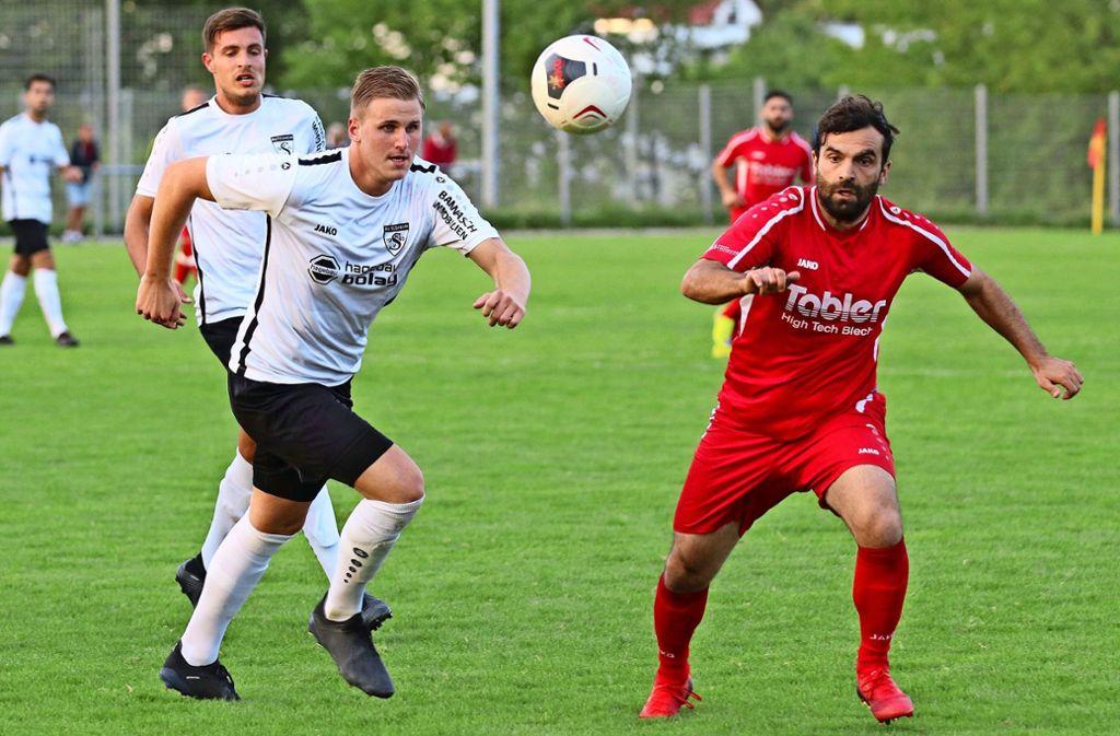 Fussball In Rutesheim Und Ditzingen Die Gegner Geben Zuhause