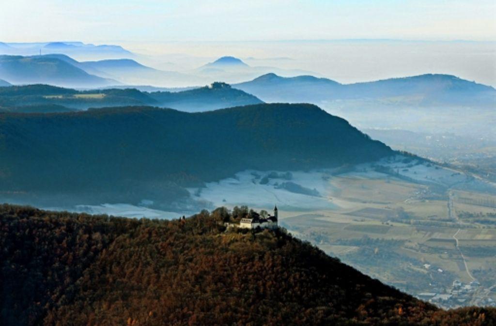 Landmarken wie die Burg Teck bleiben weiter von Windrädern verschont. Foto: Grohe
