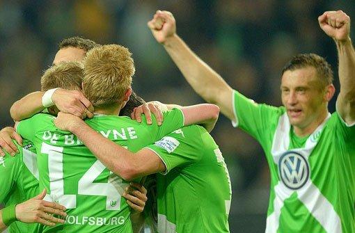Wolfsburg siegt 2:0 gegen HSV