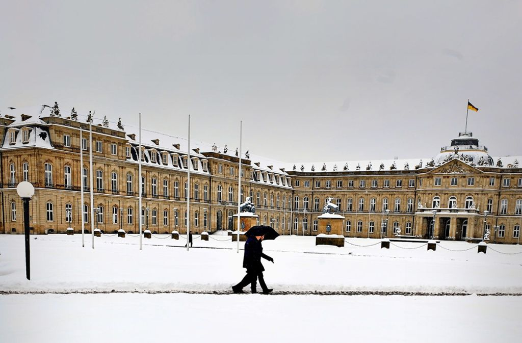 Weiße Weihnachten in Stuttgart?: Let it snow, let it snow – leider ...