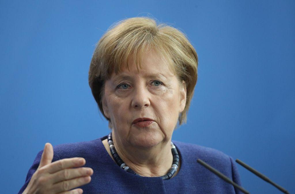 Merkel will mit aller Härte gegen Antisemitismus vorgehen