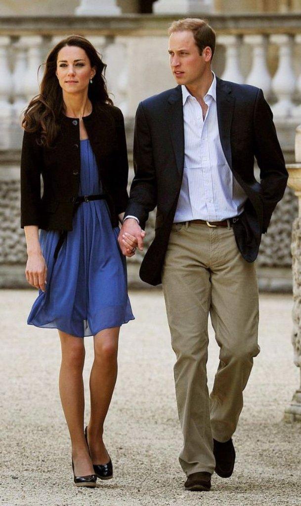 Einen Tag Nach Der Hochzeit Des Jahrzehnts Spazieren Herzogin