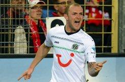 Mittelfeldspieler bKonstantin Rausch/b (23) kommt von Hannover 96. Foto: dpa
