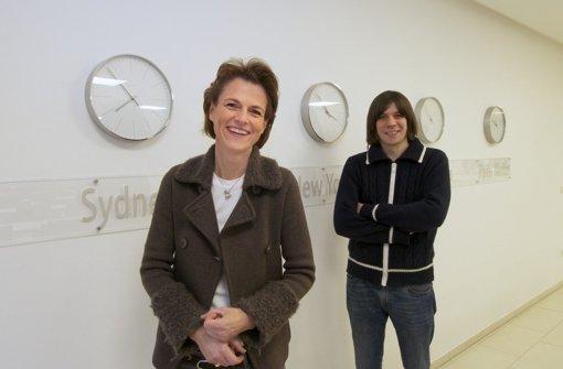 Zwei, die ihre Zeit mit allen Kräften nutzen: Stephanie Mair-Huydts mit Thorsten Puttenat. Doch die beiden finden unterschiedliche Antworten. Foto: FACTUM-WEISE