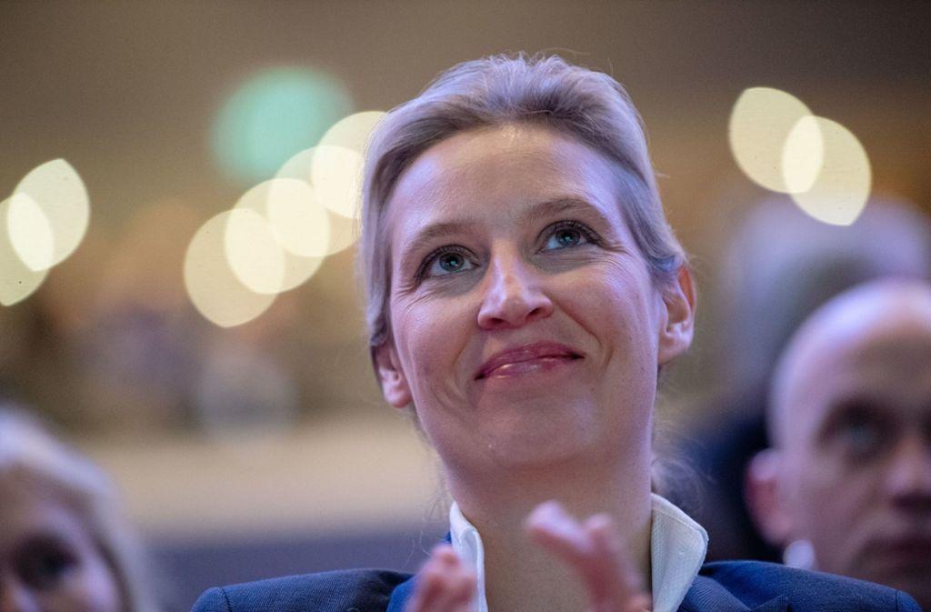 Neue AfD-Landeschefin: Alice Weidel - wie hält sies mit
