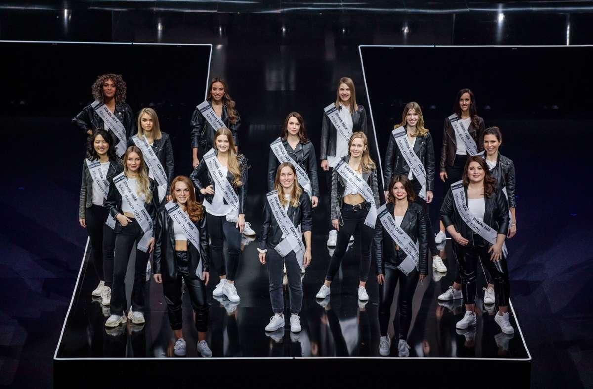 Wahl zur Miss Germany 2021: Diese 16 Frauen kämpfen im ...
