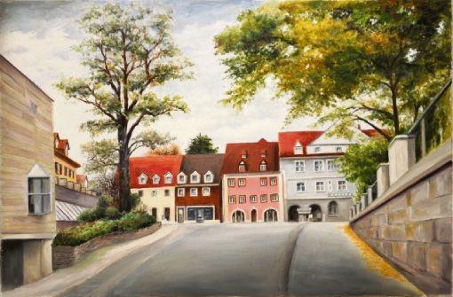 Gemälde und Zeichnungen aus Donaueschingen von Karl-Heinz Mommert sind im Rathaus II zu sehen