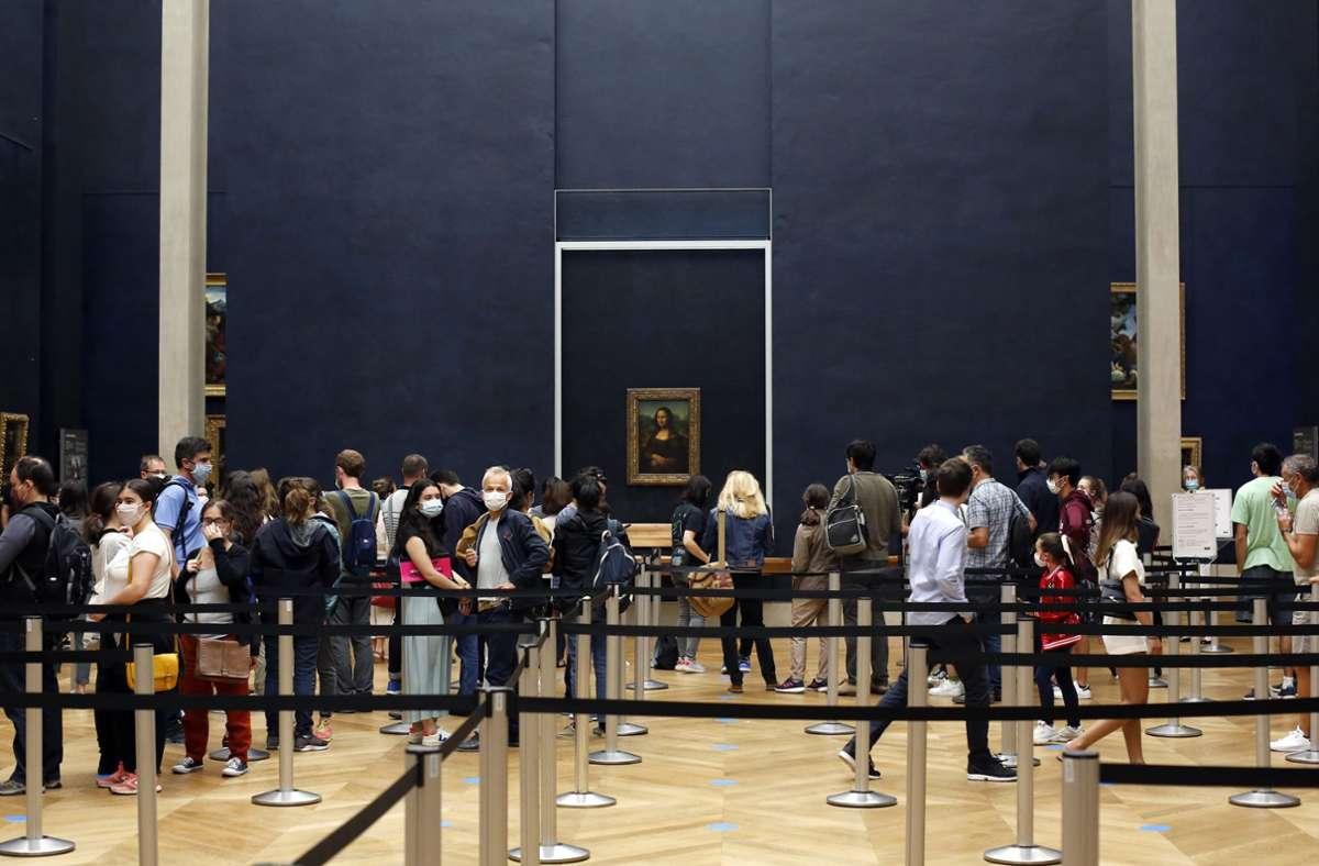 Der Louvre öffnet seine Pforten: Fast alleine mit der Mona Lisa