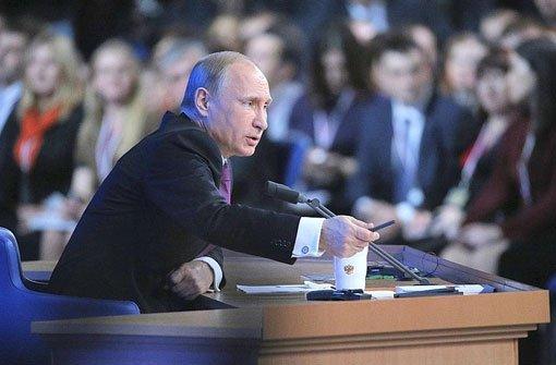 Gegen Russland ist man sich einig