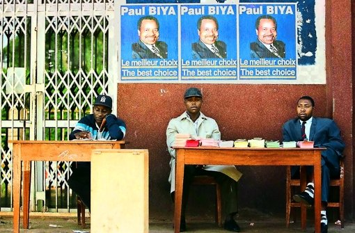 Wahlen in Kamerun – eine deutsche Firma hilft dabei künftig mit Foto: StZ