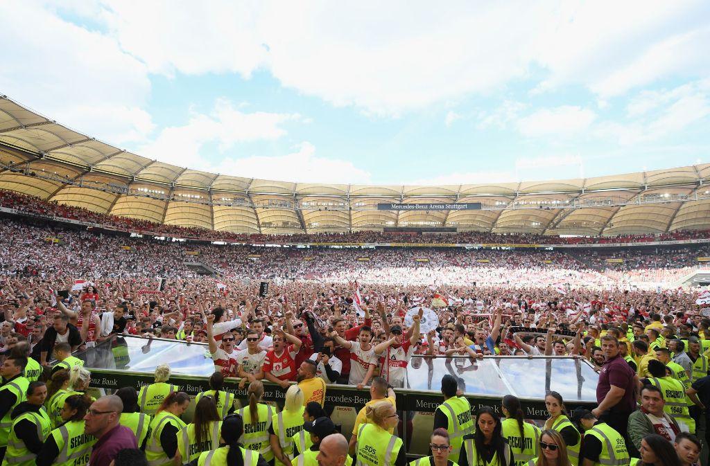 Vfb Stuttgart Aufstiegsfeier