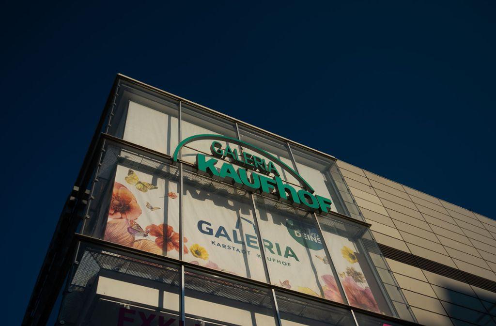 Schließung Galeria Karstadt Kaufhof