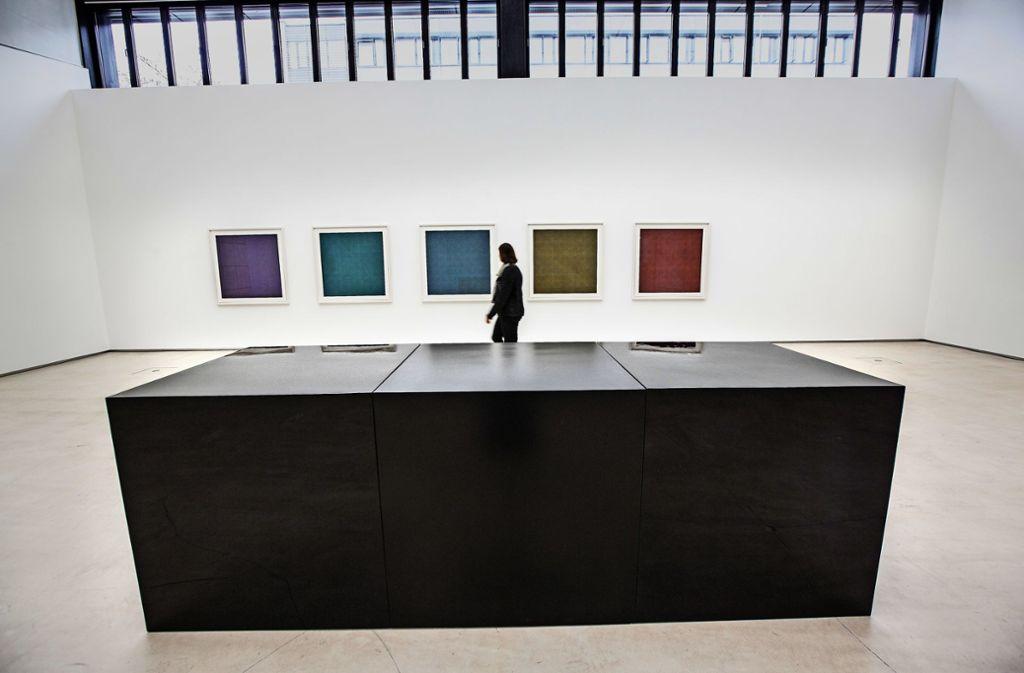 Ausstellung in Ostfildern - Kunst des einst umstrittenen Sol LeWitt kehrt zurück - Stuttgarter Zeitung