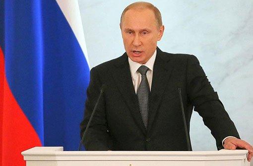 EU erhöht den Druck auf Russland