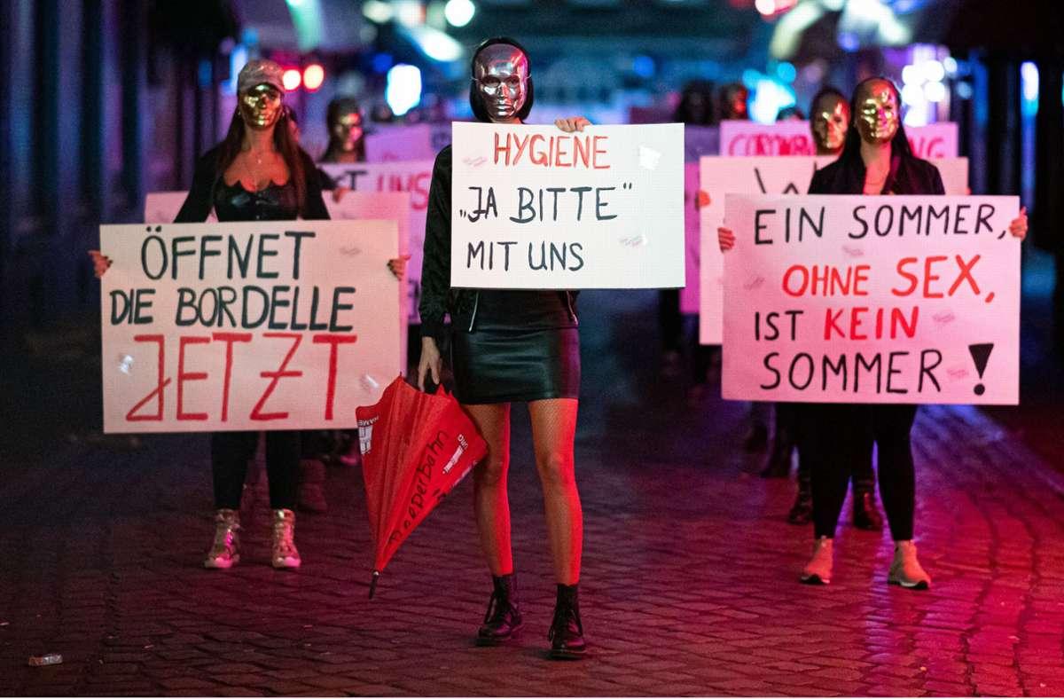 Demo auf St. Pauli: Sexarbeiterinnen fordern