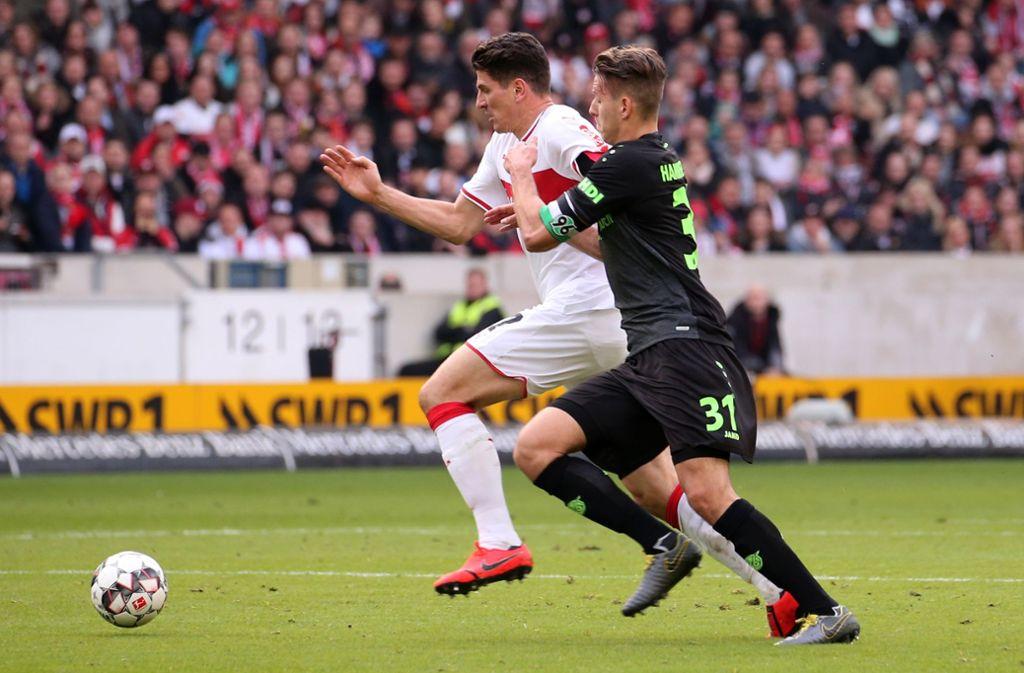Vfb Stuttgart Gegen Hannover 96