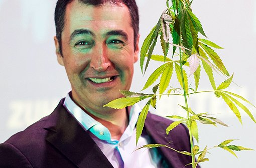 Özdemir wirbt für Cannabis-Legalisierung