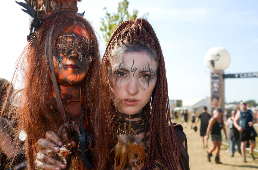 Wacken Open Air: Die schrägsten Bilder vom Musikfestival