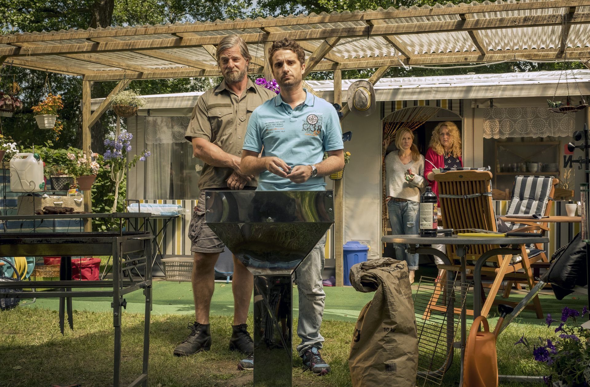 Henning Baum Als Camper In Ard Komodie Papa Ist Der Beste