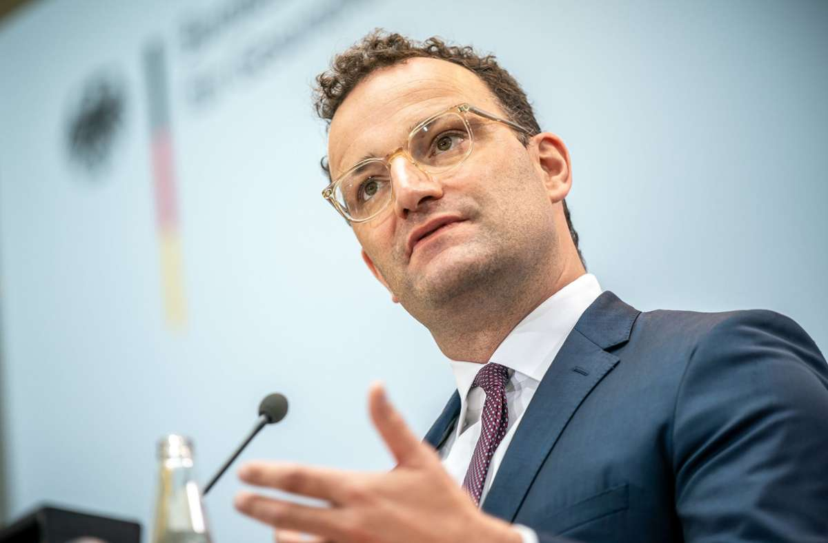 Bundesgesundheitsminister: Jens Spahn will Corona-Schnelltests ab Oktober  einsetzen - Politik - Stuttgarter Zeitung