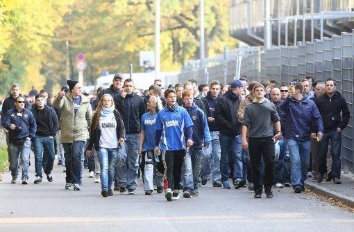 KSC-Fans lösen Massenschlägerei aus