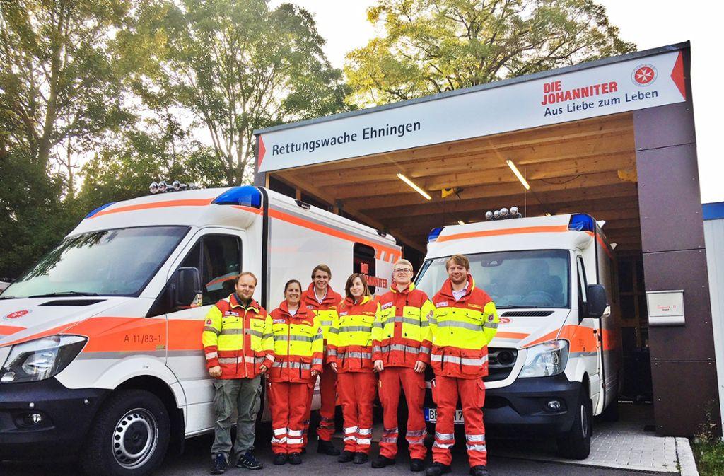 Rettungswagen Der Johanniter In Ehningen Die Helfer Sind Gut