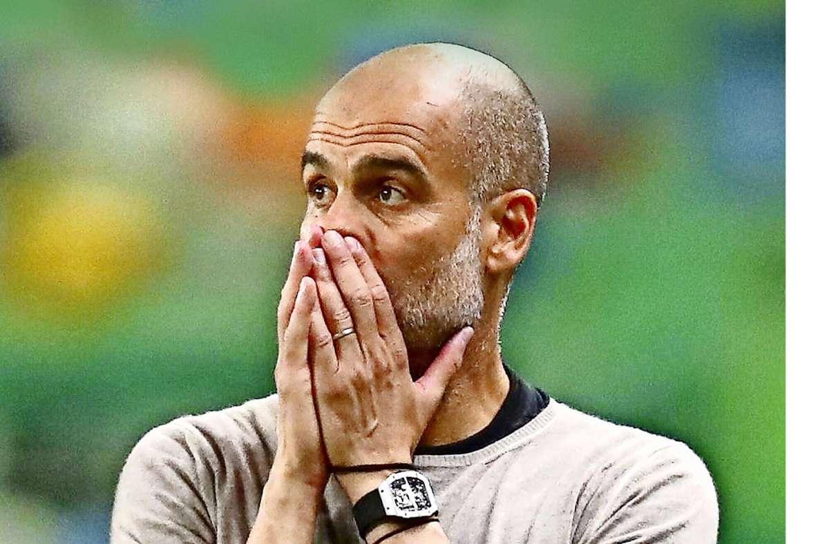Trainer Pep Guardiola von Manchester City: Warum die Zweifel am Fußballguru  wachsen - Fußball - Stuttgarter Zeitung